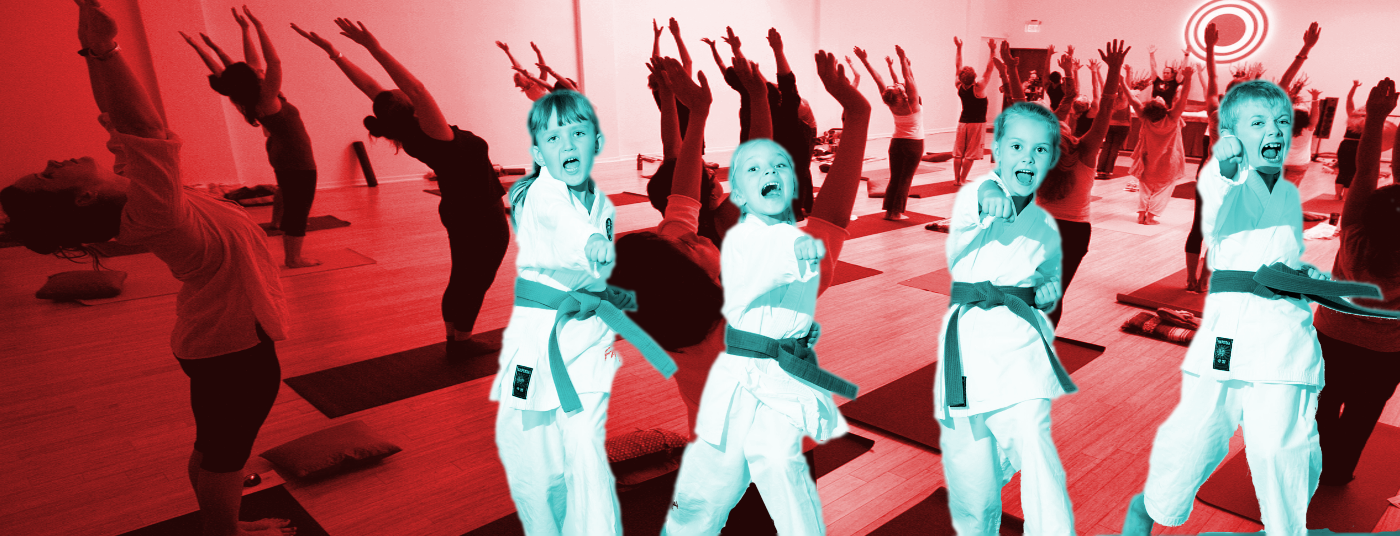Yoga, Pilates, Kids Martial Arts